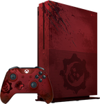 Xbox One S (2016), Gears of War 4 - Red, 2 TB