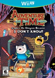 Adventure Time: Explore the Dungeon Because I DON'T KNOW! for Nintendo Wii U