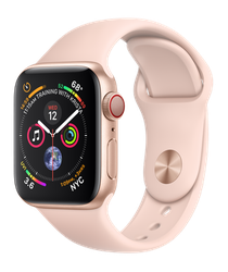 Apple Watch Series 4 40mm (Unlocked) [A1975 - Cellular], Aluminum - Gold