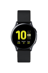 Samsung Galaxy Watch Active2 40mm (Wi-Fi), Aluminum - Black