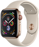 Apple Watch Series 4 44mm (Sprint) [A1976 - Cellular], Stainless - Gold