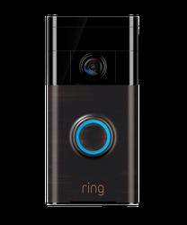 Ring WiFi Smart video doorbell - Venetian Bronze