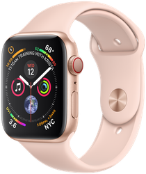 Apple Watch Series 4 44mm (Unlocked) [A1976 - Cellular], Aluminum - Gold