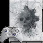 Xbox One X, Gears 5 - White