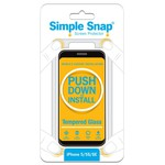 Used Simple Snap™ Screen Protector - iPhone iPhone 5/5S/SE