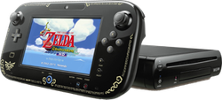 Wii U, Legend of Zelda Edition - Black, 32 GB