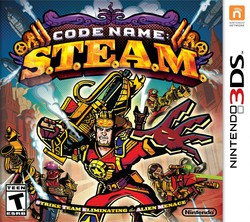 Code Name: S.T.E.A.M. for Nintendo 3DS