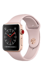 Apple Watch Series 3 38mm (Unlocked) [A1860], Aluminum - Silver