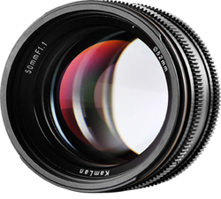 Kamlan 50mm F1.1 APS-C Large Aperture Manual Focus