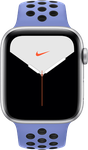 Apple Watch Series 5 44mm (Unlocked Non-US) [A2157 Non-US Cellular], Nike - Silver
