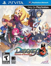 Disgaea 3: Absence of Detention for PlayStation Vita