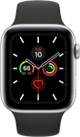 Apple Watch Series 5 44mm (Unlocked) [A2095 Cellular], Aluminum - Gray