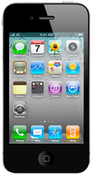 Apple iPhone 4S (AT&T) [A1387] - Black, 8 GB