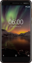 Nokia 6.1 (Unlocked) - Black, 32 GB, 3 GB
