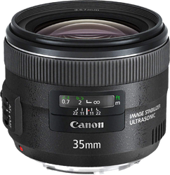 Canon EF 35mm f2 IS USM Wide-Angle for sale on Swappa