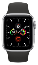 Apple Watch Series 5 40mm [A2092 GPS Only], Aluminum - Silver