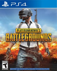 PLAYERUNKNOWN'S BATTLEGROUNDS: THE ULTIMATE LIFE & DEATH FIGHT for PlayStation 4