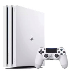 PlayStation 4 Pro, Glacier White - White, 1 TB