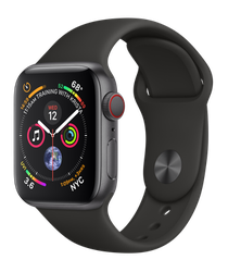 Apple Watch Series 4 40mm (Unlocked) [A1975 - Cellular], Aluminum - Gray