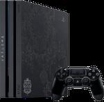 PlayStation 4 Pro, Kingdom of Hearts 3 - Black, 1 TB