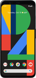 Google Pixel 4 XL (Verizon) [G020J] - Black, 64 GB, 6 GB