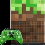Xbox One S (2016), Minecraft - Green, 1 TB
