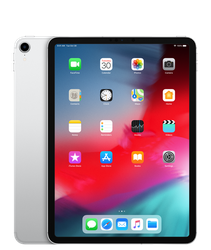 "Apple iPad Pro 11"" 2018 (AT&T) [A2013] - Silver, 64 GB"