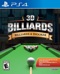 3D Billiard for PlayStation 4