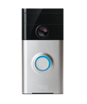 Ring WiFi Smart video doorbell - Satin Nickel