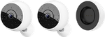 Logitech Circle 2 Home Security Camera, Combo: 2 Wireless Cameras + 1 Rechargeable Battery