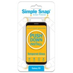 Used Simple Snap™ Screen Protector - Samsung Galaxy S5