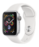 Apple Watch Series 4 40mm [A1977 - GPS Only], Aluminum - Silver