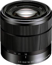 Sony Alpha SEL1855 E-mount 18-55mm F3.5-5.6 OSS for sale on Swappa