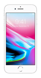 Apple iPhone 8 (Unlocked) [A1863] - Silver, 64 GB
