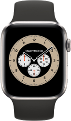 Apple Watch Series 6 44mm (Unlocked) [A2294 - Cellular], Titanium - Titanium