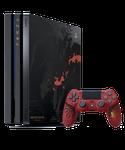 PlayStation 4 Pro, Monster Hunter: World Liolaeus - Black & Red, 1 TB
