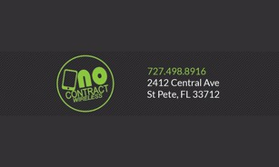 No Contract Wireless Banner