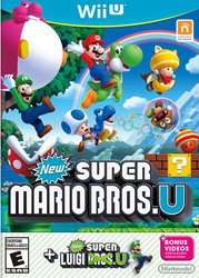New Super Mario Bros. U + New Super Luigi U for Nintendo Wii U