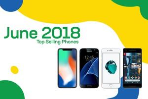 Top selling used phones – June 2018