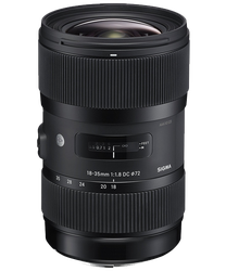 Sigma 18-35mm F1.8 Art (Canon) for sale on Swappa