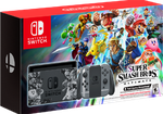 Nintendo Switch, Super Smash Bros. Edition - Grey, 32 GB
