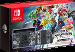Nintendo Switch, Super Smash Bros. Edition - Grey, 32 GB