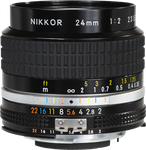Nikon 24mm f2.0 Nikkor AI-S Manual Focus