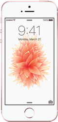 Apple iPhone SE (Unlocked) [A1662] - Rose Gold, 16 GB