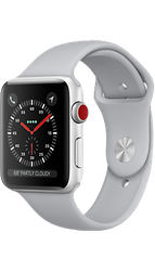 Apple Watch Series 3 42mm (Unlocked) [A1861], Aluminum - Silver