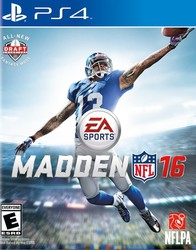 Madden NFL 16 for PlayStation 4