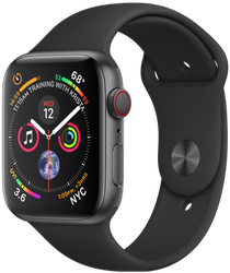 Apple Watch Series 4 44mm (Verizon) [A1976 - Cellular], Aluminum - Gray