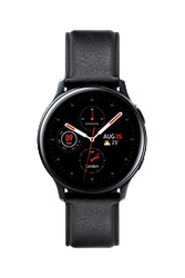 Samsung Galaxy Watch Active2 44mm (Unlocked), Stainless Steel - Black