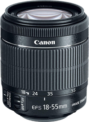 Canon EF-S 18-55mm f3.5-5.6 IS STM for sale