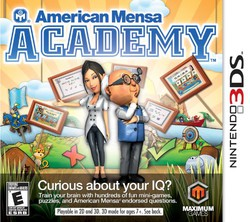 American Mensa Academy for Nintendo 3DS
